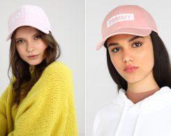 berretti con visiera rosa Tommy Hilfiger