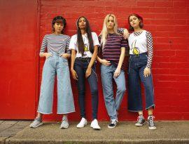 jeans da donna Monkee Genes