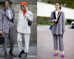 tailleur donna streetstyle
