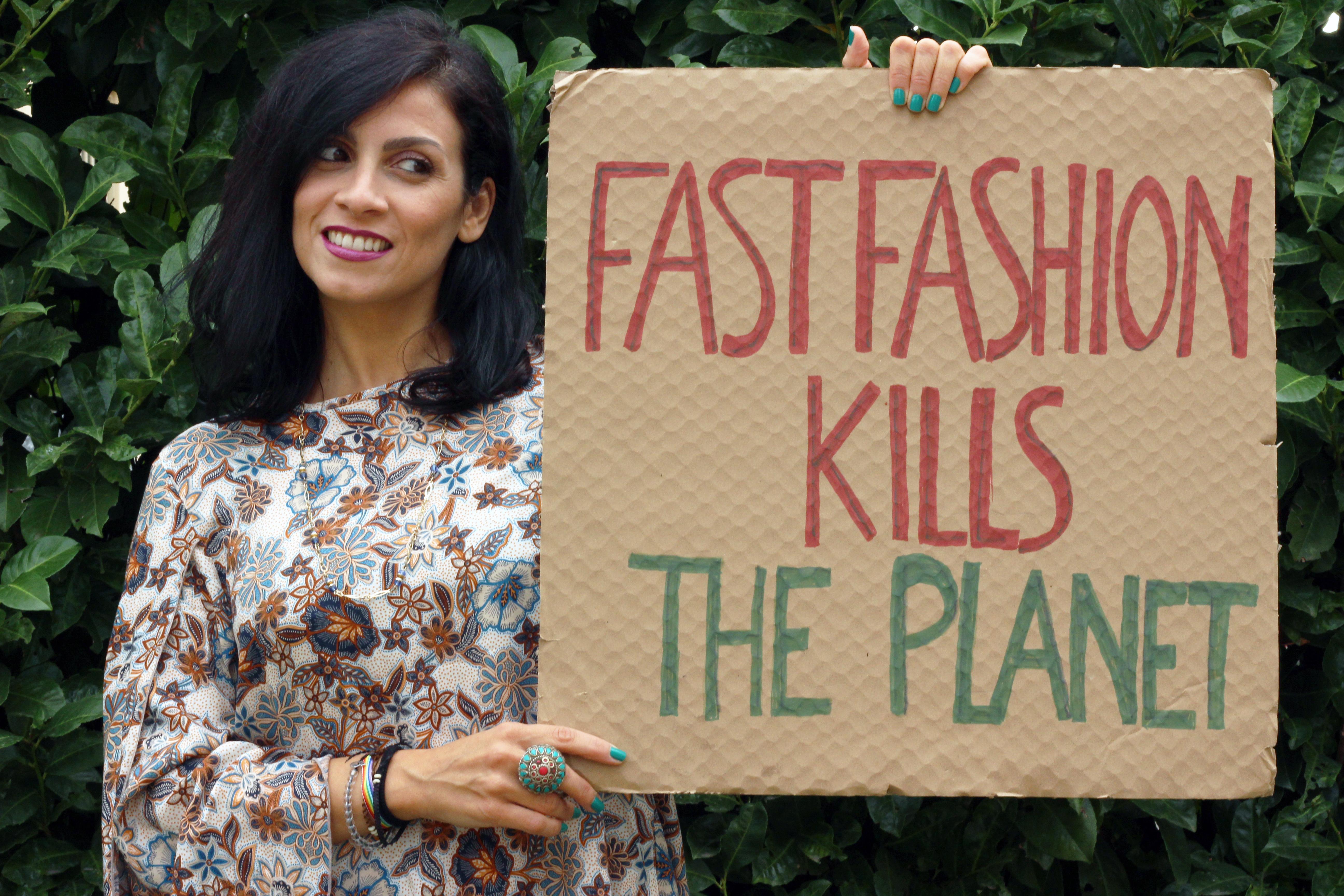 fast fashion kills the planet