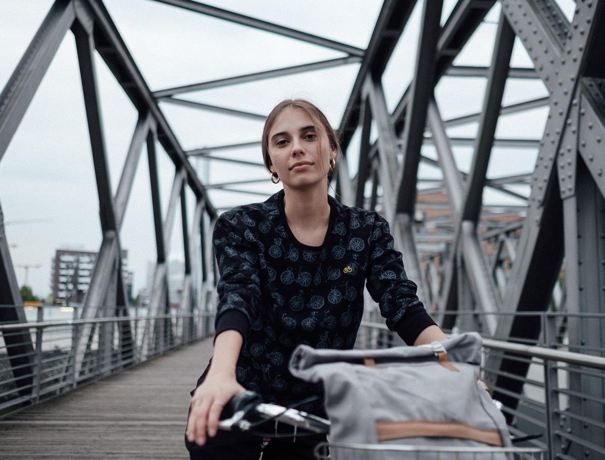 felpa bicicletta recolution