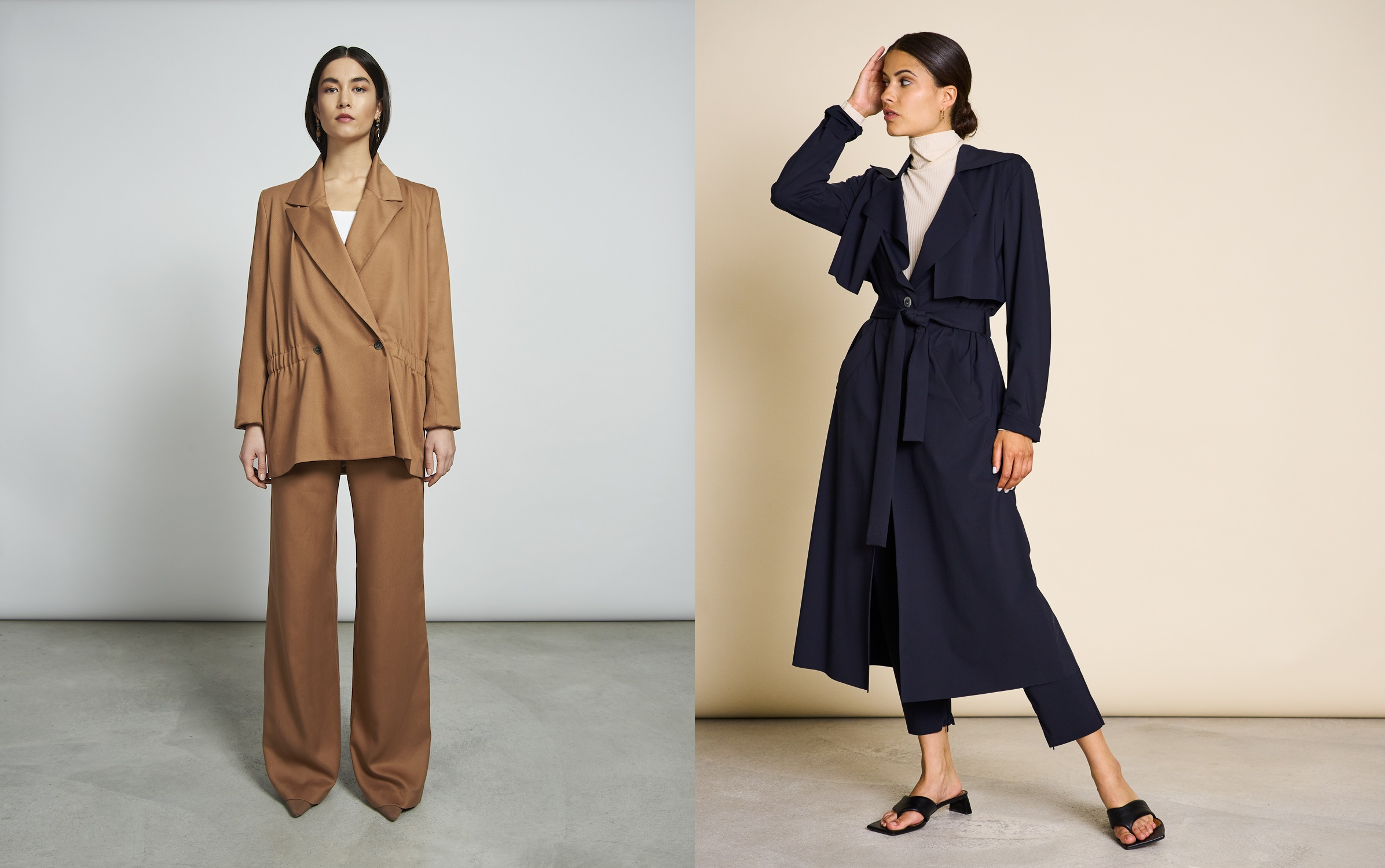 trench donna Jan`N June AW21